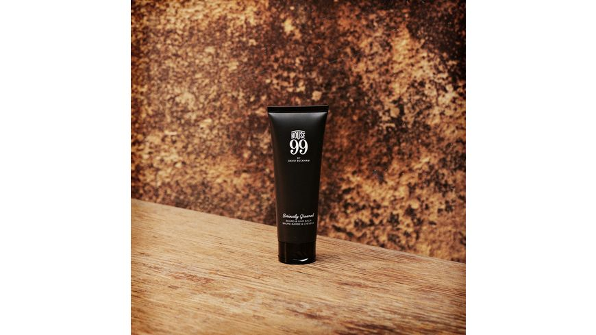 House 99 by DAVID BECKHAM Seriously Groomed Beard Hair Balm