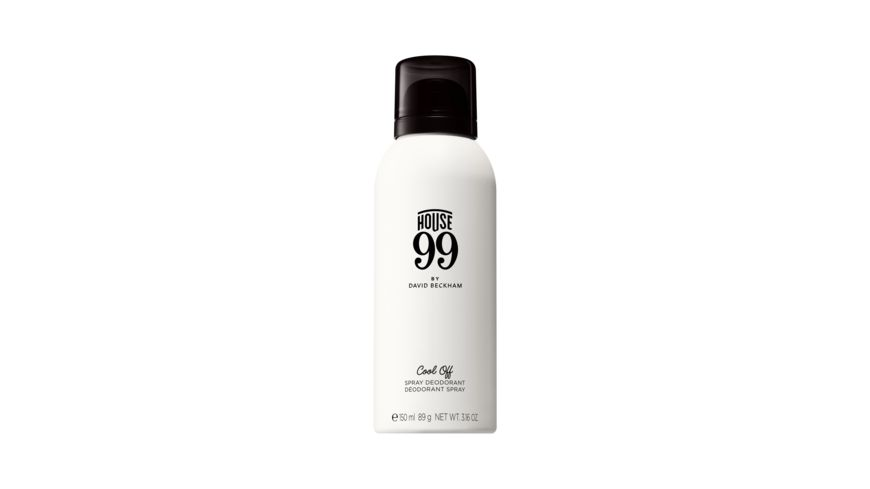 House 99 by DAVID BECKHAM Cool Off Deodorant Spray