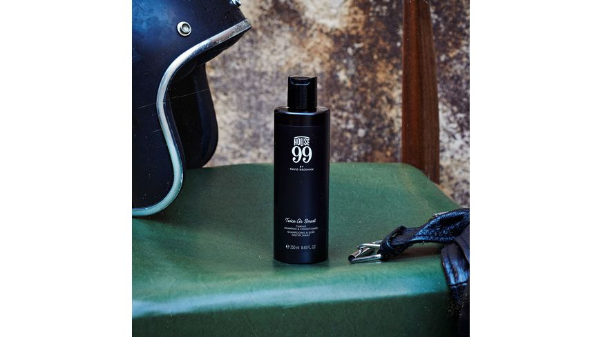 House 99 by DAVID BECKHAM Twice As Smart Taming Shampoo Conditioner