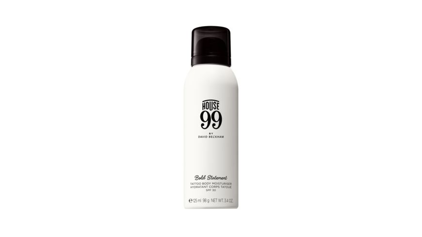 House 99 by DAVID BECKHAM Bold Statement Tattoo Body Moisturiser SPF30