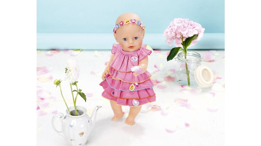Zapf Creation Baby born Sommerkleid Set mit Pins