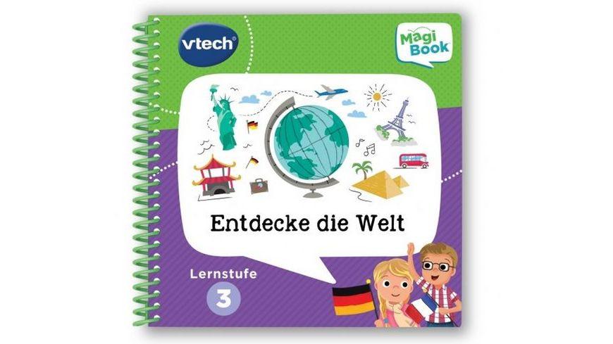 VTech MagiBook Lernstufe 3 Entdecke die Welt