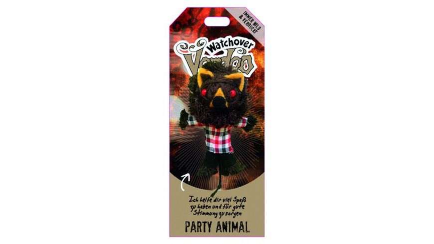 H H Voodoo Sammelpuppe Party Animal
