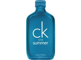 ck one summer Eau de Toilette Natural Spray