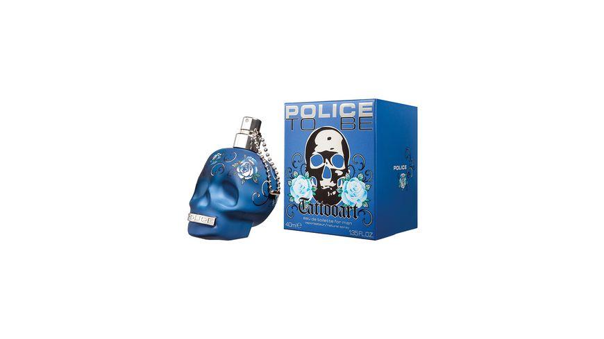 POLICE To Be Tattoo Art Eau de Toilette
