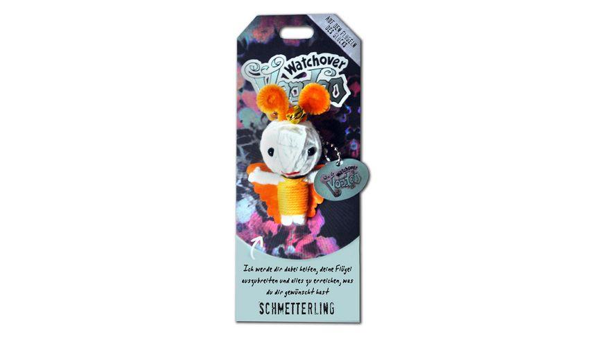 H H Voodoo Sammelpuppe Schmetterling