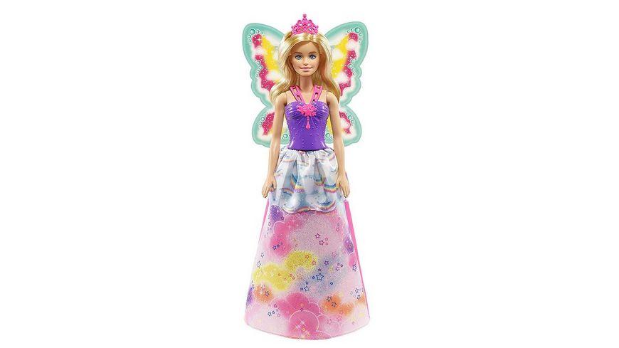Mattel Barbie Dreamtopia Regenbogen Koenigreich 3 in 1 Fantasie Puppe Geschenkset