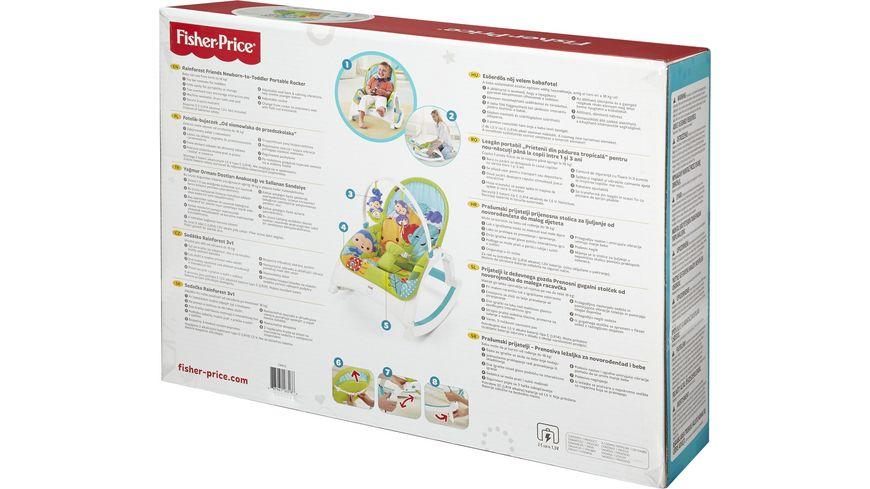 Fisher Price 2 in 1 Kompakt Schaukelsitz Spielbogen