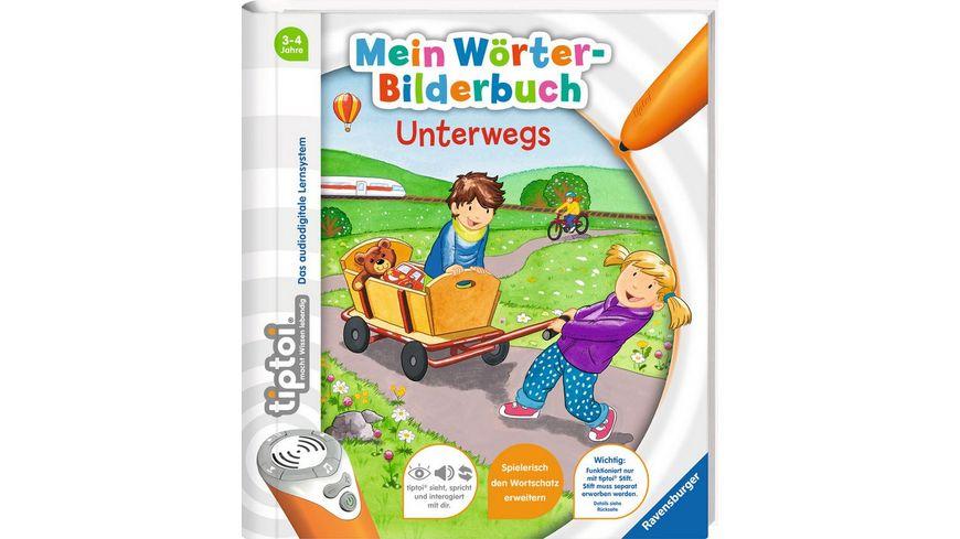 Ravensburger tiptoi Mein Woerter Bilderbuch Unterwegs