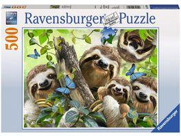 Ravensburger Puzzle Faultier Selfie 500 Teile
