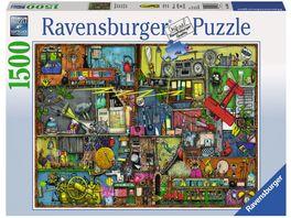 Ravensburger Puzzle Das Krachmacher Regal 1500 Teile
