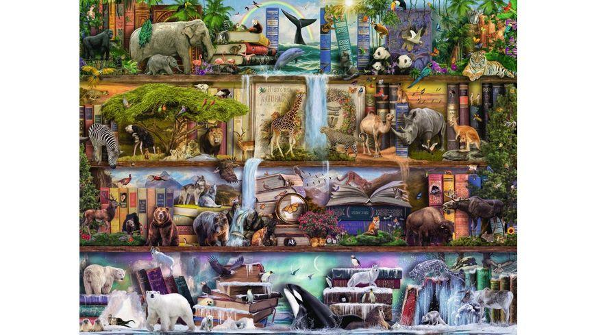 Ravensburger Puzzle Aimee Stewart Grossartige Tierwelt 2000 Teile