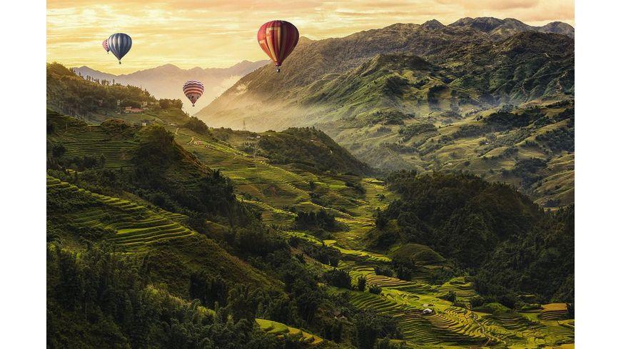 Ravensburger Puzzle Reisterrassen in Asien 3000 Teile