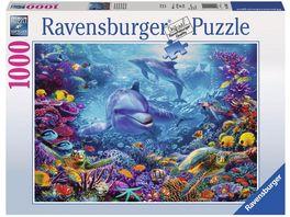 Ravensburger Puzzle Praechtige Unterwasserwelt 1000 Teile