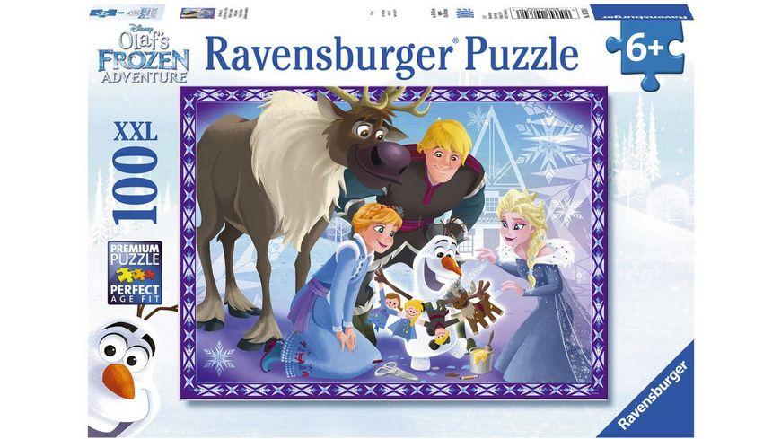 Ravensburger Puzzle Frozen Familienzauber 100 XXL Teile