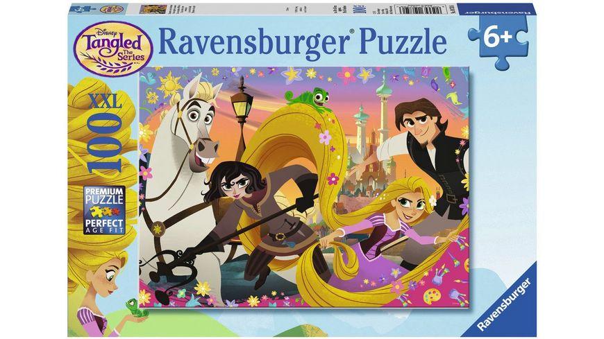 Ravensburger Puzzle Rapunzel Rapunzels neue Abenteuer 100 XXL Teile