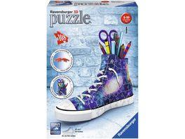 Ravensburger Puzzle 3D Puzzle Sonderformen Sneaker Galaxy Design 108 Teile