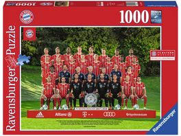 Ravensburger Puzzle FC Bayern 17 18 J H 1000 Teile