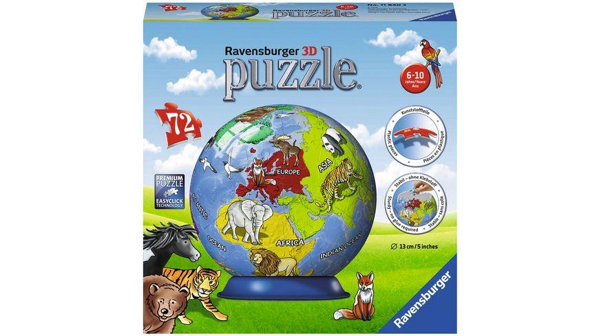 Ravensburger Puzzle 3D Puzzle Ball Kindererde
