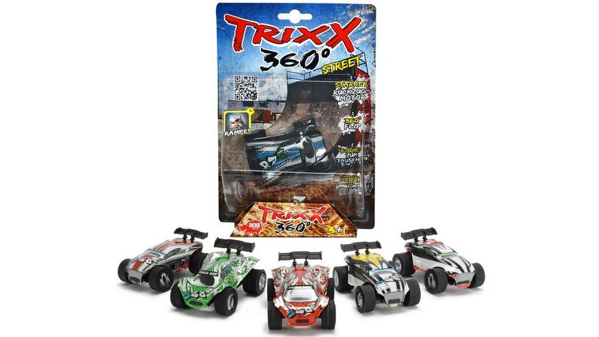 Dickie Trixx 360 Short Ramp Fahrzeug sortiert