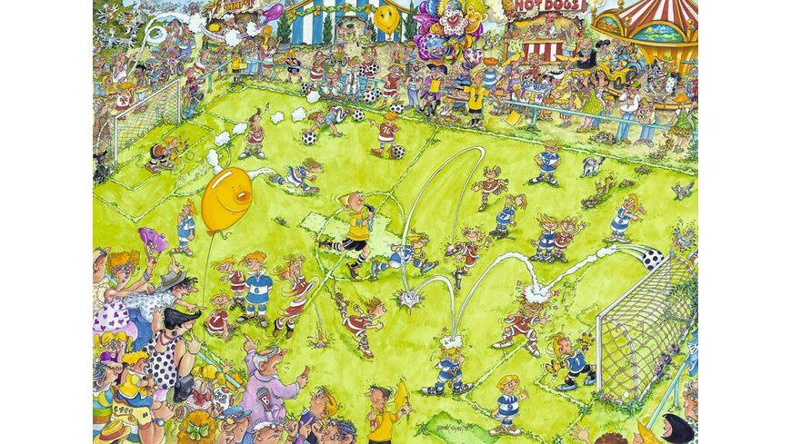 Ravensburger Puzzle Beim Fussballspiel 500 Teile