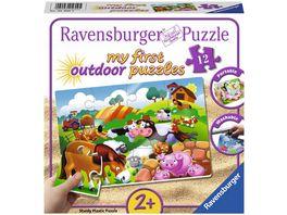 Ravensburger Puzzle Liebe Bauernhoftiere 12 Teile