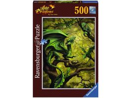 Ravensburger Puzzle Walddrache by Anne Stokes 500 Teile