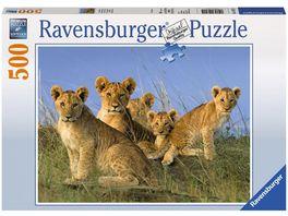 Ravensburger Puzzle Loewen Babys 500 Teile