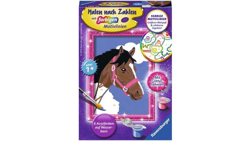 Ravensburger Beschaeftigung Malen nach Zahlen Pferd