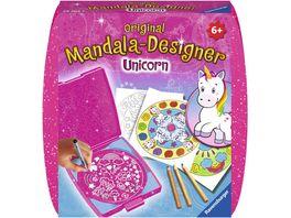 Ravensburger Beschaeftigung Mandala Designer Unicorn mini fuer unterwegs