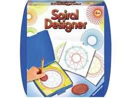 Ravensburger Beschaeftigung Mandala Designer Spiral Bilder fuer unterwegs blau