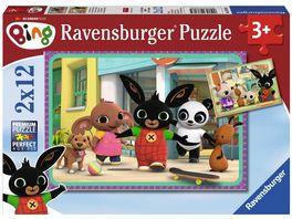 Ravensburger Puzzle Bing Bunny Bings Abenteuer 2x12 Teile