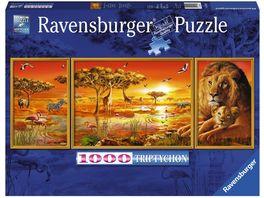 Ravensburger Puzzle Afrikanische Impressionen 1000 Teile