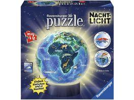 Ravensburger Puzzle 3D Puzzle Ball Nachtlicht Erde bei Nacht