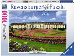 Ravensburger Puzzle Schloss Ludwigsburg 1000 Teile