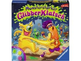 Ravensburger Spiel Monsterstarker Glibber Klatsch