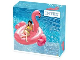 Intex Mega Flamingo Badeinsel 215 x 211 x 136 cm