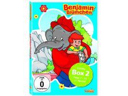 DVD Benjamin Bluemchen Sammelbox 2 Folgen 7 12 1 Special