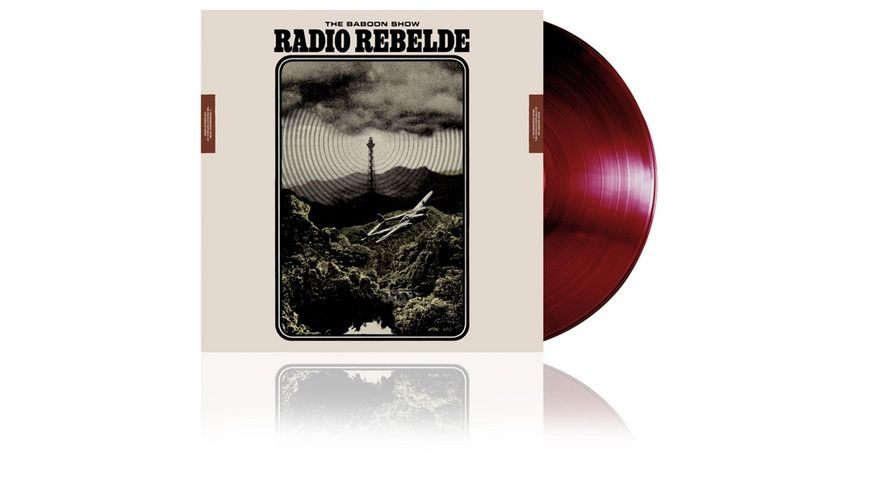 Radio Rebelde Dark Burgundy Red Vinyl