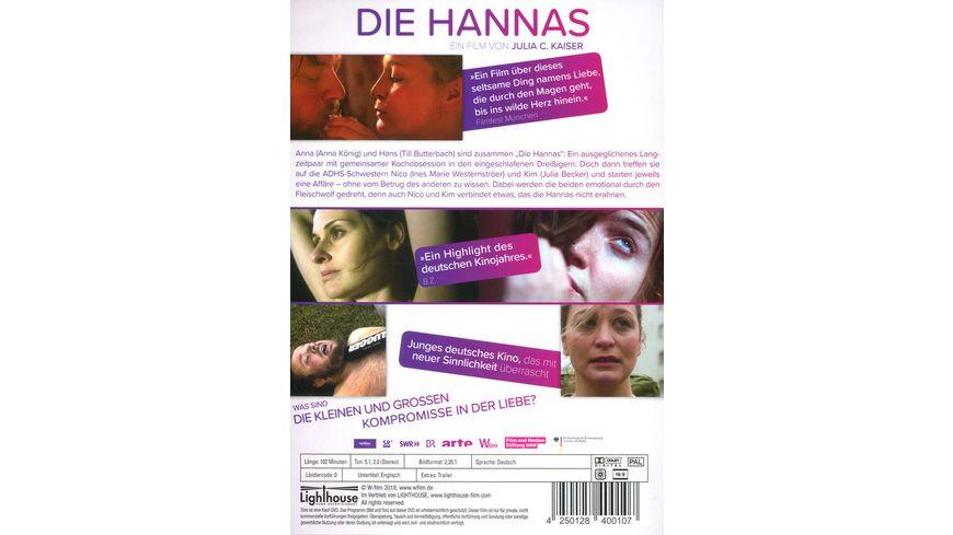 Die Hannas Eine Liebeskomoedie die da anfaengt wo andere aufhoeren