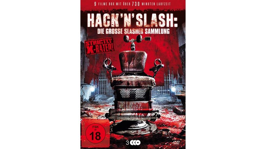 Hack n Slash Die grosse Slasher Sammlung 3 DVDs