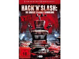 Hack n Slash Die grosse Slasher Sammlung 3 DVDs