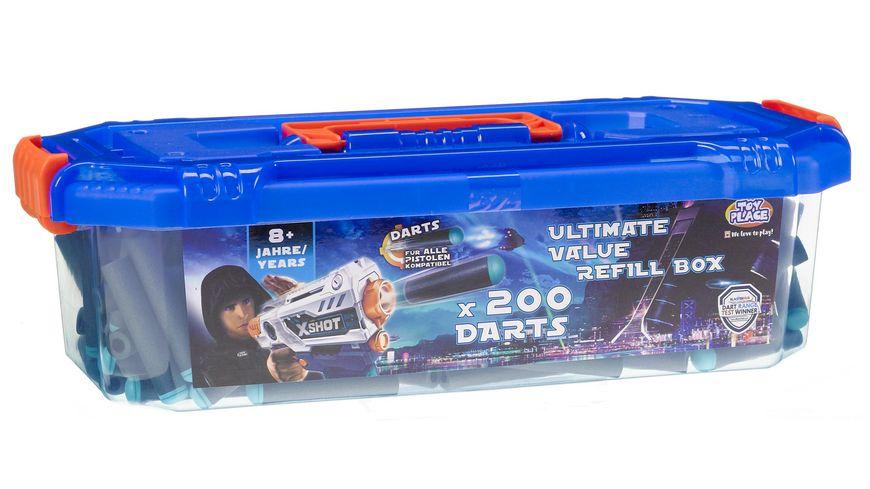 Mueller Toy Place Soft Gun Dart Ultimative Value Refill Box 200 Softdarts