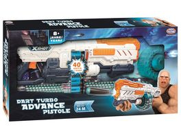 Mueller Toy Place Soft Gun Dart Blaster Turbo Advance Pistole