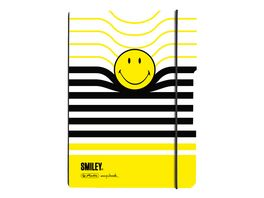 herlitz Notizheft Flex A5 Smiley Black Yellow