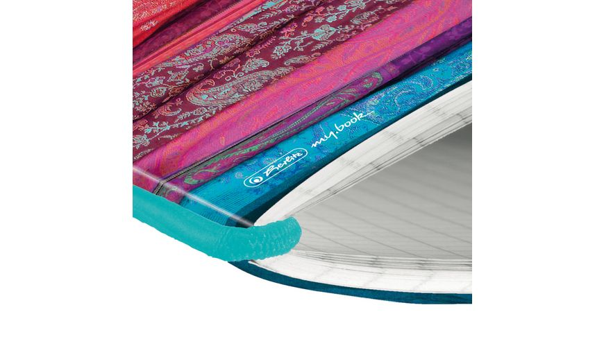herlitz my book flex Notizheft A5 Scarfs kariert