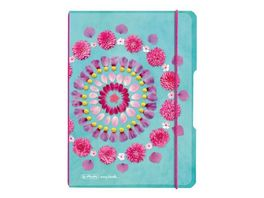herlitz Notizheft Flex A5 Flowers