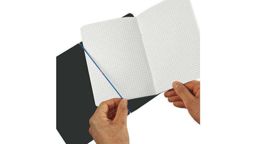 herlitz my book flex Notizheft Leinen A5 hellblau