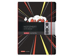 herlitz Notizheft Flex A4 Comic