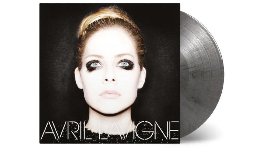 Avril Lavigne ltd silber schwarz Mix Vinyl